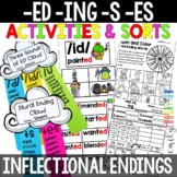 Words Their Way Within Word Pattern Spellers Unit 9 Endings Plural and Past