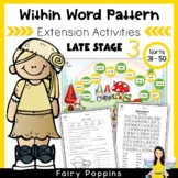 Within Word Pattern Games & Worksheets - Late Stage