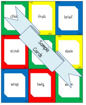 Words Their Way: Within Word Patterns: Sort 37: Triple R-Blends: SCR, STR, SPR