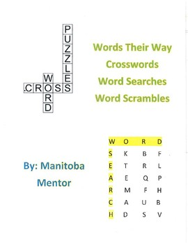 Words Their Way Within Word Patterns Sorts 11-15 Activity Package