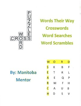 Words Their Way Within Word Patterns Sorts 16-20 Activity Package