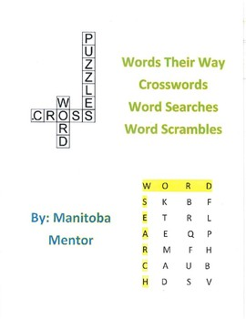 Words Their Way Within Word Patterns Sorts 26-30 Activity Package