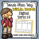 Words Their Way: Within Word Sorts 1-6 Long and Short Vowels