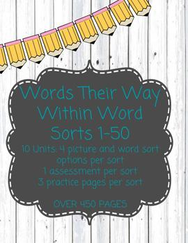 Words Their Way: Within Word: Spelling Sorts, Assessments
