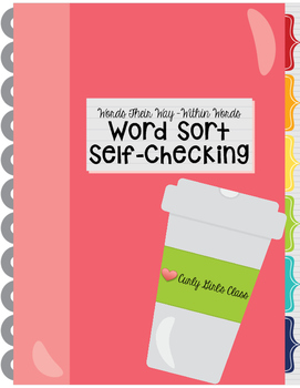 Words Their Way Within Words Self Checking