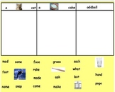 Words Their Way Within word spellers sort 7 with pictures and words flipchart