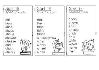 Words Their Way Word Lists - Red Book