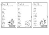 Words Their Way Word Lists - Yellow Book