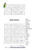 Words Their Way Red book 73 Word Searches Find a words Letter name alphabetic