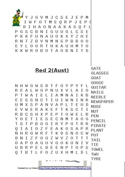 Words Their Way Red Book 73 Word Searches Find A Letter Name Alphabetic