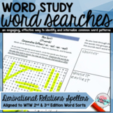 Derivational Relations Spellers Word Searches (2nd Edition)