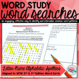 Letter-Name Alphabetic Spellers Word Searches