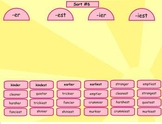 Spelling Derivational Relations Word Sorts 1-13