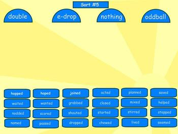 Spelling Syllables and Affixes Word Sorts 1-9