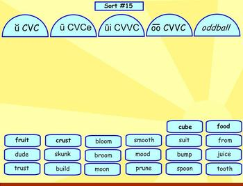 Spelling Within Word Pattern Sorts 13-18
