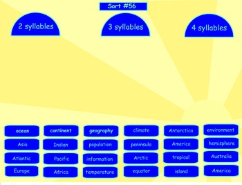 Spelling Syllables and Affixes Word Sorts 39-56