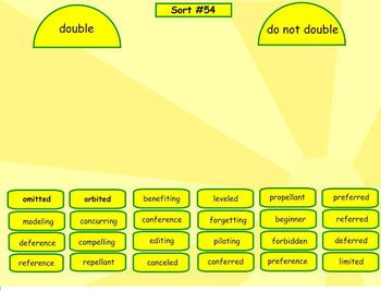 Spelling Derivational Relations Word Sorts 43-60