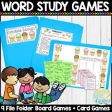 Words Their Way Word Study Games