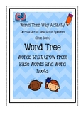Words Their Way Word Tree Activity: Words that Grow from b