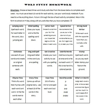 Words Their Way_Centers,H.W., Assessments, Templates