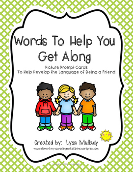Words To Help You Get Along