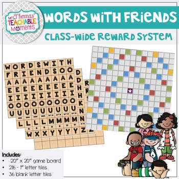 Classroom Management - Words With Friends - A Class-Wide Reward System