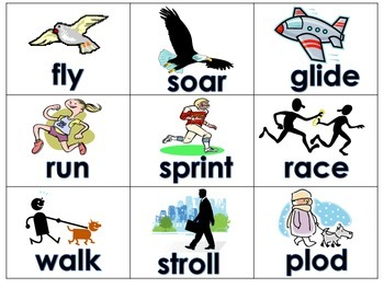 Words With Similar Meanings Literacy Center Daily 5 Word Work Activity