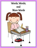Words, Words, and More Words (dictionary includes jewish holiday spellings)