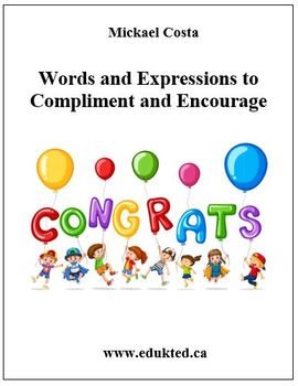 Words and Expressions To Compliment And Encourage (150)
