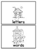 Words and Letter Sort SPANISH and ENGLISH