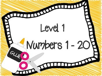 Words and Numbers Back to School Practice
