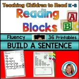 Sentence Building Worksheets for Kindergarten to 3rd