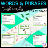 Words and Phrases in Poems and Stories Task Cards 2nd Grade RL2.4