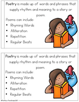 Words and Phrases in Poetry Interactive Mini Book {RL.2.4}