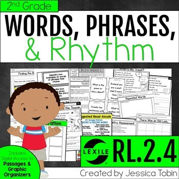 Words and Phrases in Poetry or a Story RL2.4- Poetry Unit
