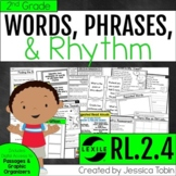 Words and Phrases in Poetry or a Story RL.2.4 2nd Grade with Digital Learning