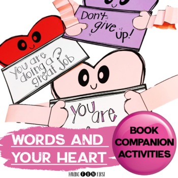 Words and Your Heart Kindness Activities