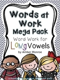 Words at Work Mega Pack {Word Work for Long Vowels}