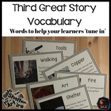Words for Montessori Third Great Story