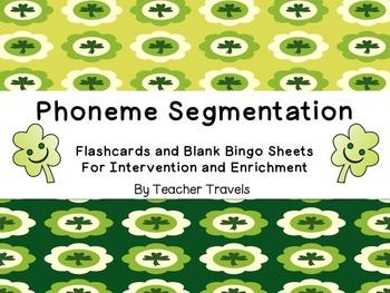 Words for Phoneme Segmentation St. Patrick's Day Theme