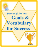 Goals & Vocabulary for Success