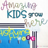 Words for Walls | Back to School | Classroom Decor
