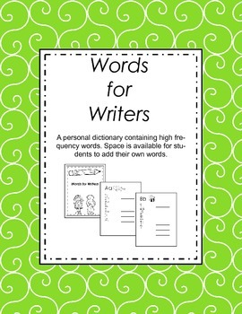 Words for Writers