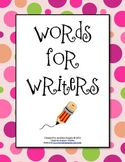Words for Young Writers