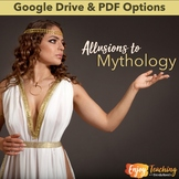 Allusions to Greek Mythology Unit - Learn 40 Words from Myths!