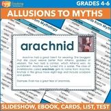 Words from Mythology Cards - 40 Allusions to Greek Mythology
