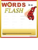 Words in a Flash - student dictionary