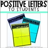 POSITIVE LETTERS TO STUDENTS