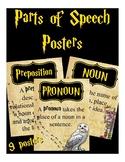 Words of Speech (Hogwarts, Harry Potter, Classroom Posters)