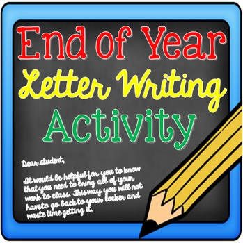 FREE Back to School/End of Year Writing Activity